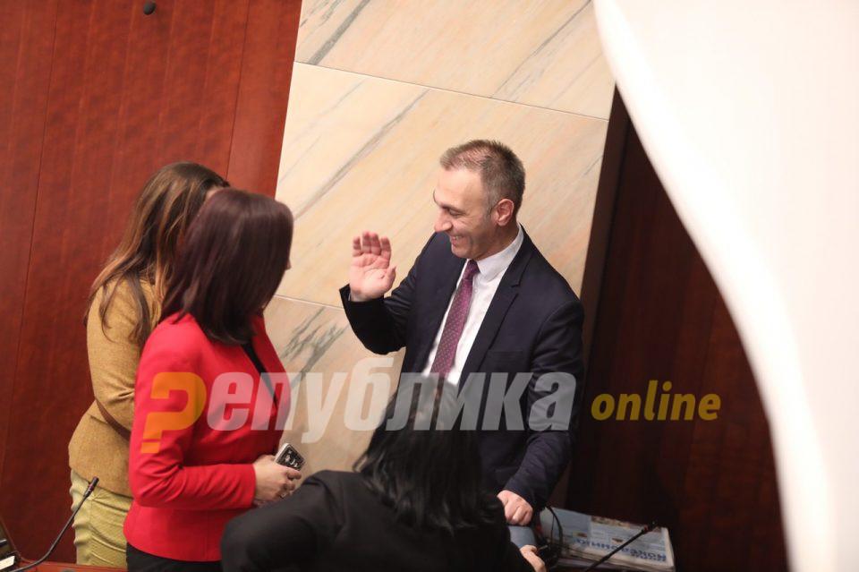 Мицковски: Партискиот тепач Груби треска за ветинг