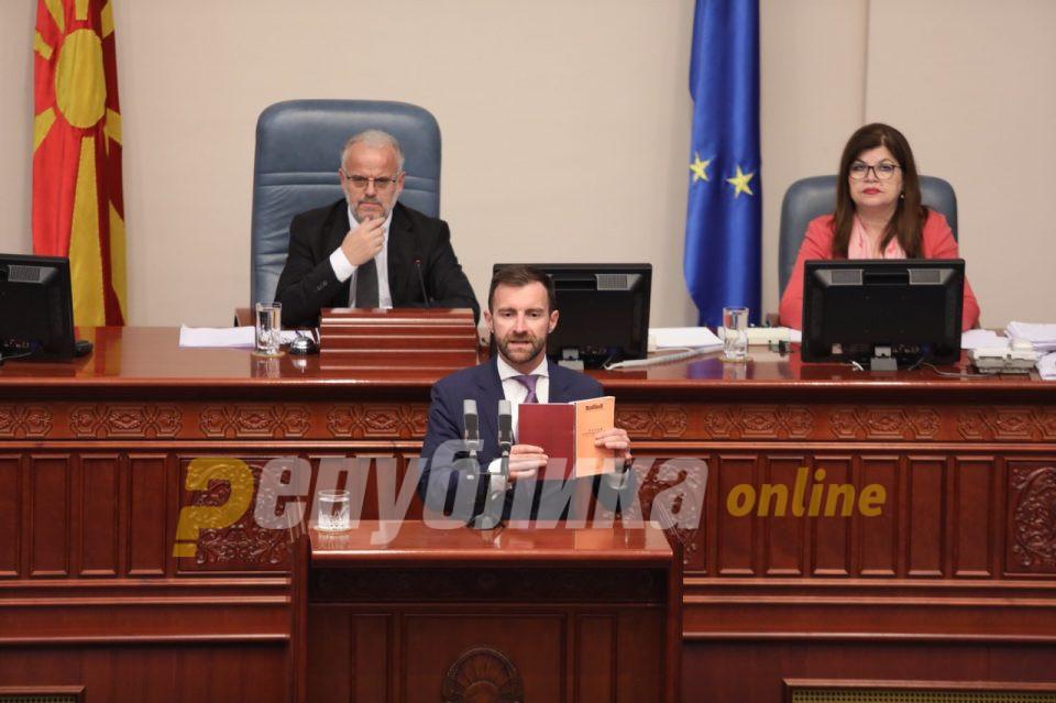 Димовски: Секоја одложена седница значи спасување на Јанева