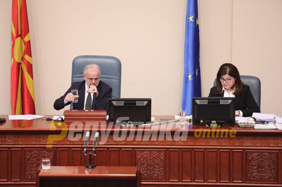 Џафери ќе го врати до судот барањето за симнување на пратеничкиот имунитет на Вељаноски