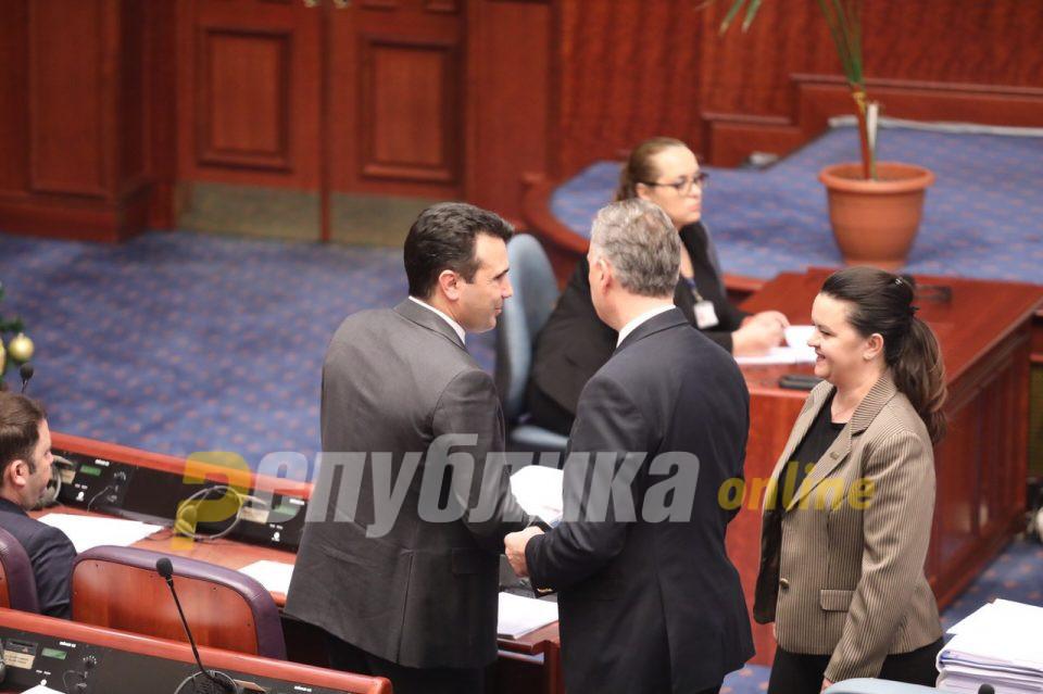 Заев: Ременски ќе биде времено отстранета од партијата