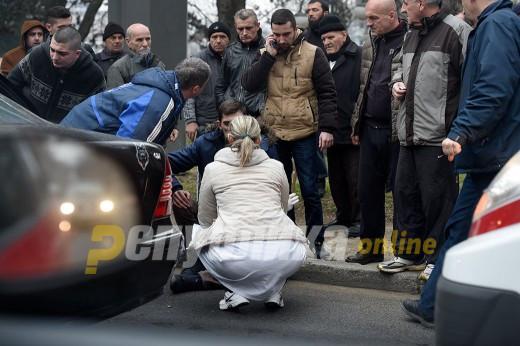 Жена прегазена во Скопје почина на клиника
