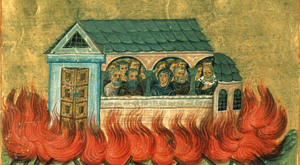Денес е спомен на Светите Дваесет илјади никомидијски маченици: Изгореа во пламен за христовата вера