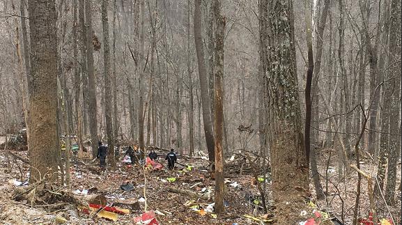 Се урна болнички хеликоптер, тројца мртви