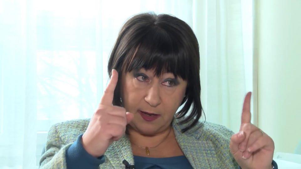 """Ванковска: Познава ли Уставот, технички и дополнителни министри, """"Пржинска влада""""!?"""