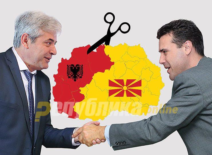Следува кантонизација или федерализација на Македонија како заокружување на Пржинскиот договор