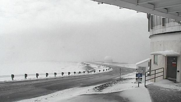 Снег на Хаваи: Ова е чудо