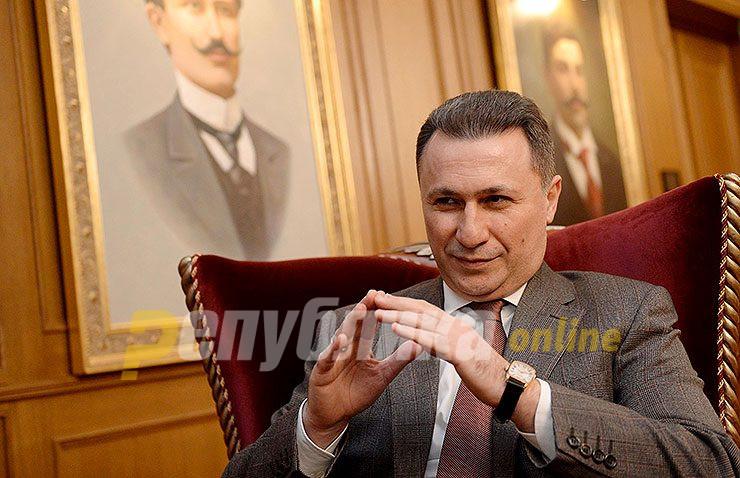 Груевски: Ципрас никогаш не предложил такви разговори кои сум ги одбил
