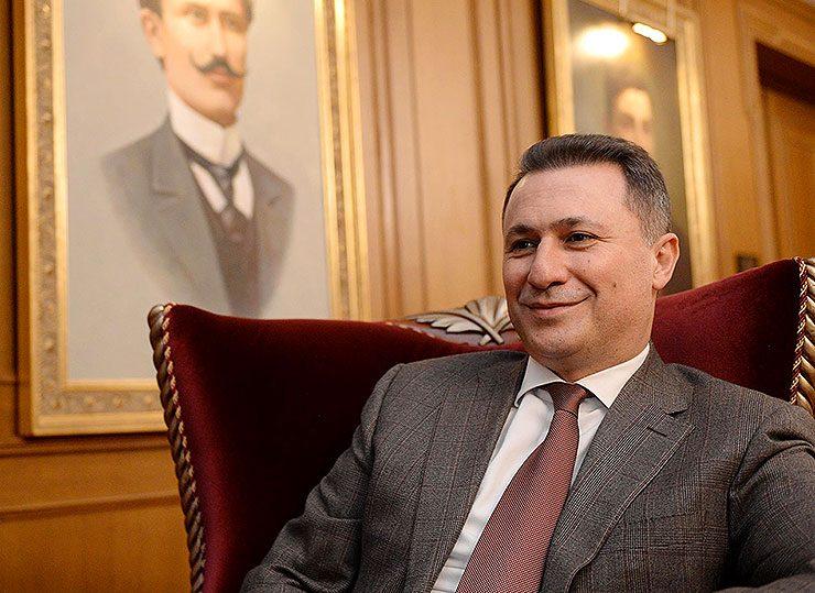 Груевски за Костов: Прерано замина личност полна со енергија и ентузијазам за подобра иднина на Македонија