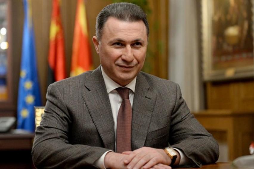 Бил помилуван: Груевски нема да одговара во случајот насилства во општина Центар