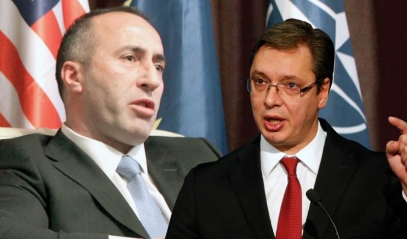 Вучиќ за заканата на Харадинај за обединување со Албанија: Некој од Србија тоа да го кажеше веќе ќе не бомбардираа