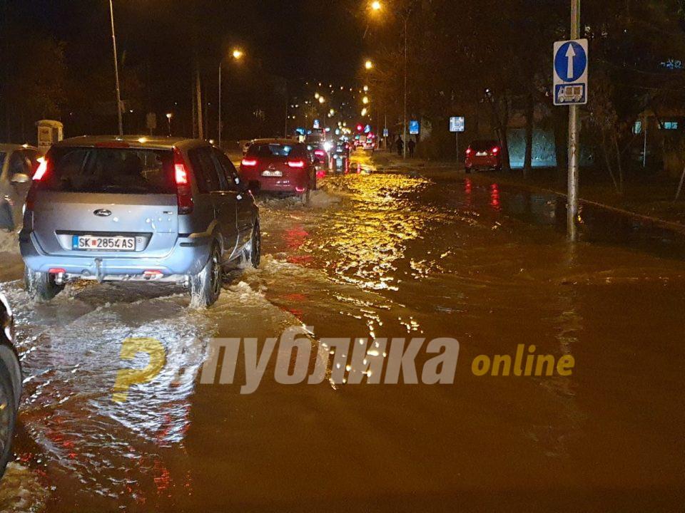 """Саниран е дефектот што ја поплави """"Илинденска"""""""