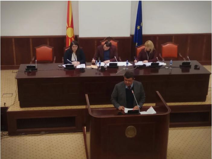 Mицевски побара од пратениците да не му го одземат мандатот на Љупчо Димовски