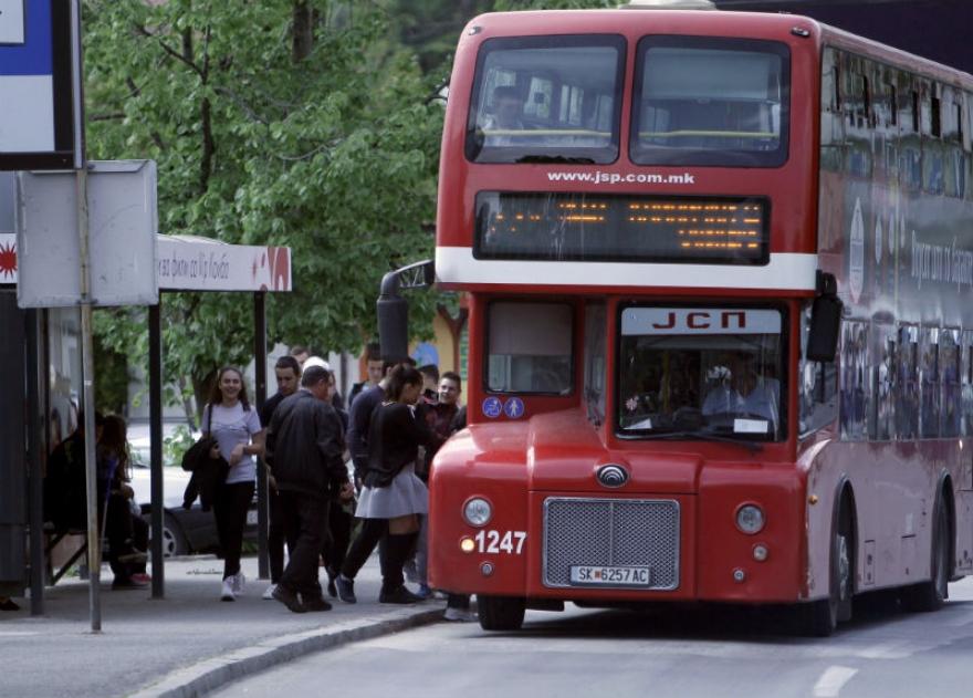 Автобусите на ЈСП сообраќаат по неделен возен ред