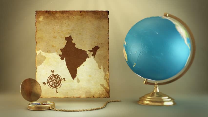Компасот покажува Балканска Индија
