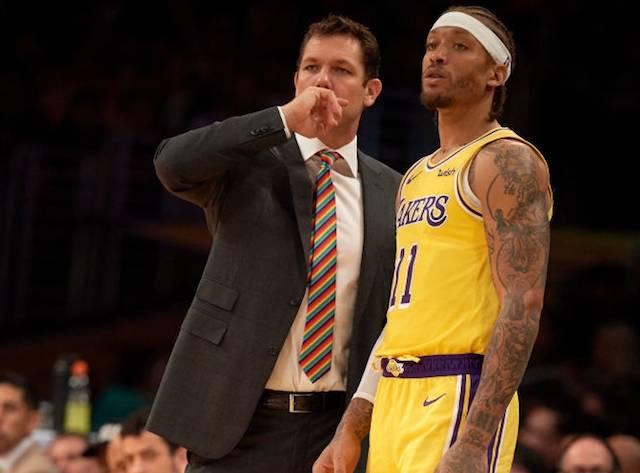 Инцидент во соблекувалната на Лејкерс: Двајца кошаркари имале соочување со тренерот Волтон