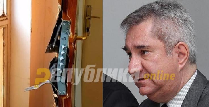 """Вознемирувачко: """"Алфите"""" насилно влегоа во домот на пратеникот Љупчо Димовски"""