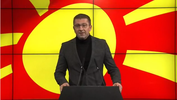 Мицкоски: Ја прифаќам понудата за дебата со Заев, и за разлика од него без дополнителни услови и барања