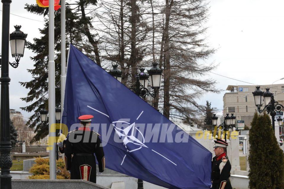 Протоколот за НАТО пред естонските пратеници, почнува процедурата и во Сенатот