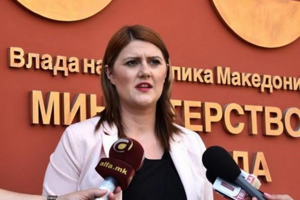 Стаменковска Стојковски: Аматерски е обидот да ги прикривате податоците за над 40.000 вработувања во јавниот сектор