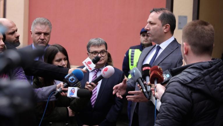 Спасовски: Приведени се сите четворица поранешни министри