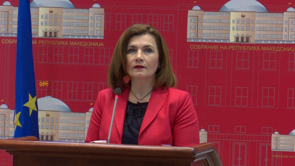Министерката за труд ја обвини дијаспората која се врати во Македонија дека ја зголемила невработеноста