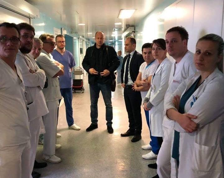 """Шефот на хируршкиот тим од """"8 Септември"""" раскажува за тешката ноќ"""