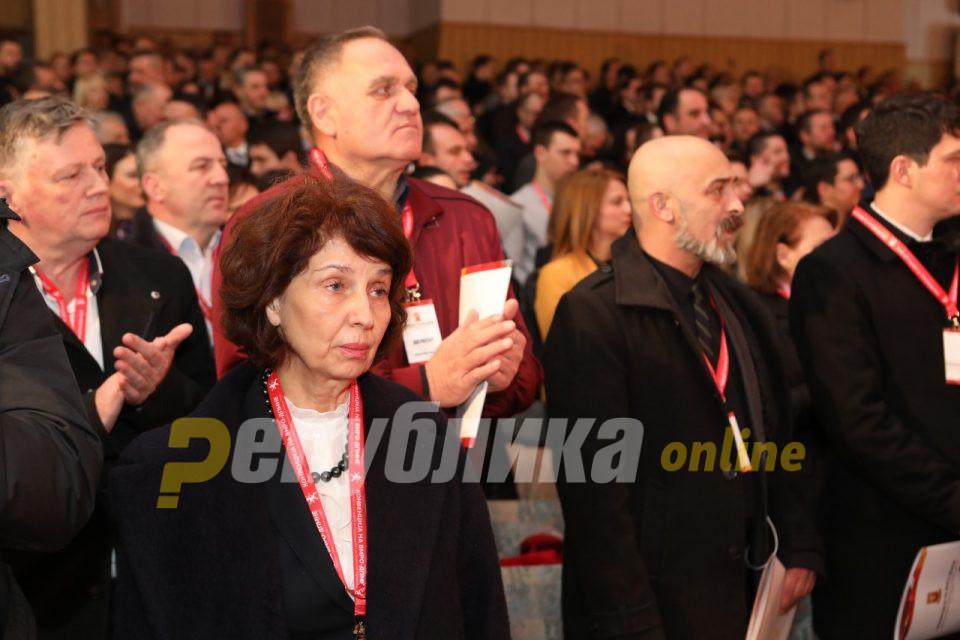 Гордана Силјановска Давкова и официјално кандидат за претседател на Македонија