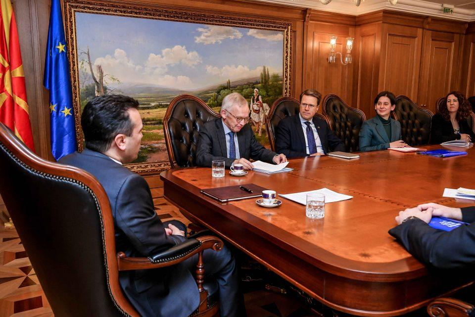 Заев – Прибе: На земјата ѝ требаат практични резултати во правосудството