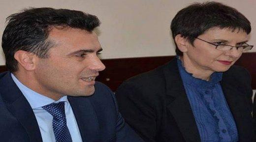 И синот на Јанева, шефица на кабинетот на Заев, вработен во државно