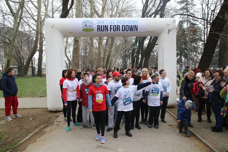 Хуманитарна трка за деца со Даунов синдром во Градскиот парк