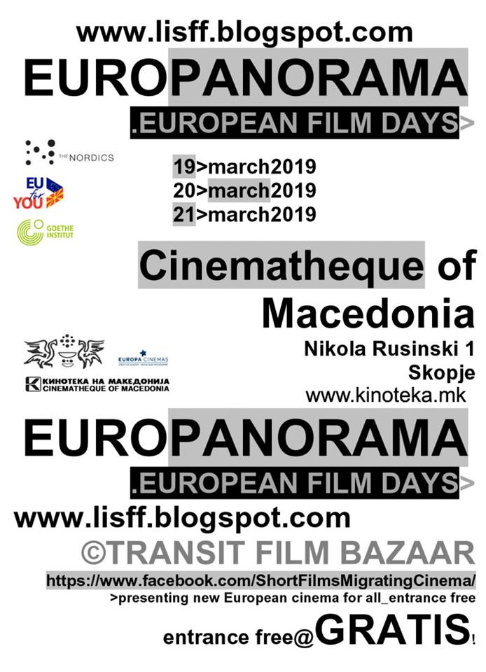 """Од денеска """"Еуропа панорама: Денови на европски филм"""" во Кинотека"""