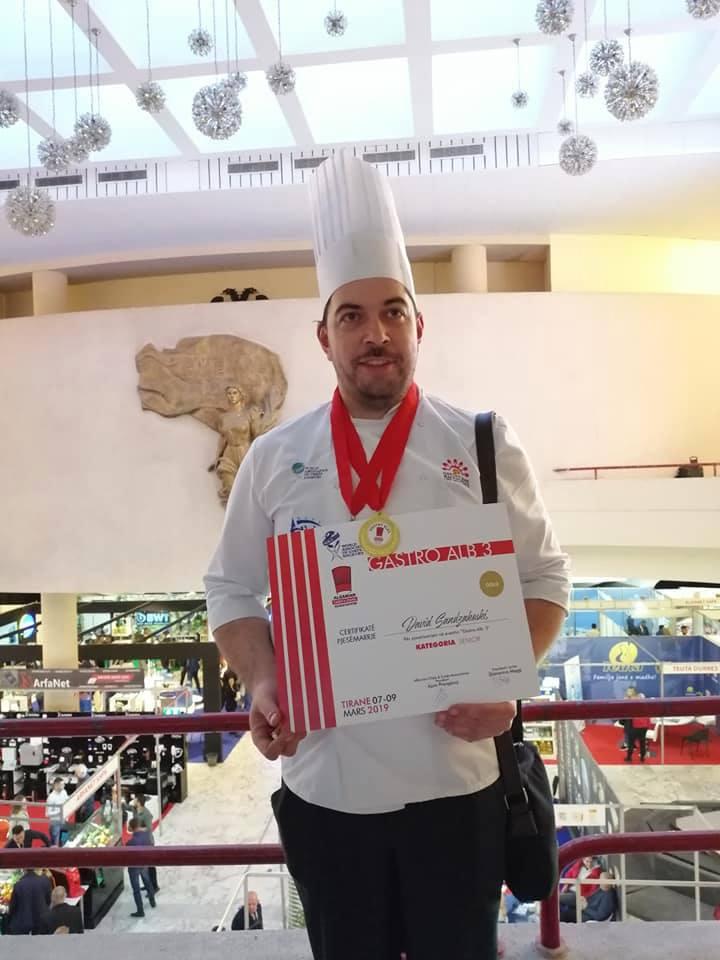 Гран- при за Давид Санџакоски во Албанија