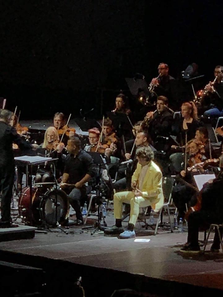 Трите писма од Сараево музика за душа на роденденскиот концерт на Горан Бреговиќ