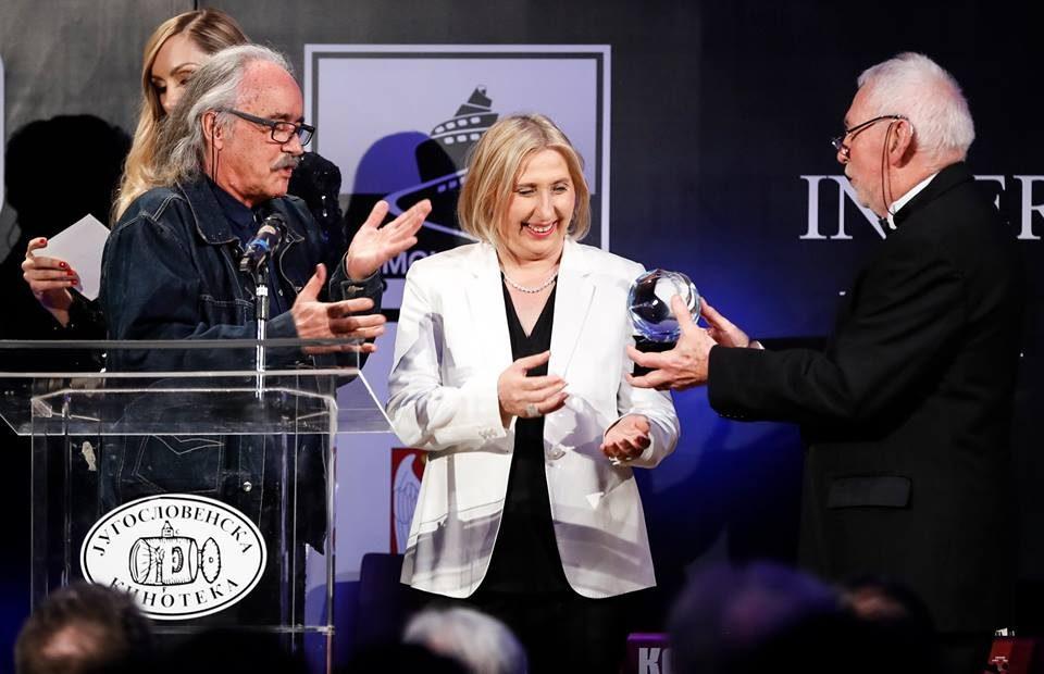 """Во Белград на ИФФК """"Браќа Манаки"""" му беше доделена награда за исклучителен придонес во промоцијата на филмската уметност"""