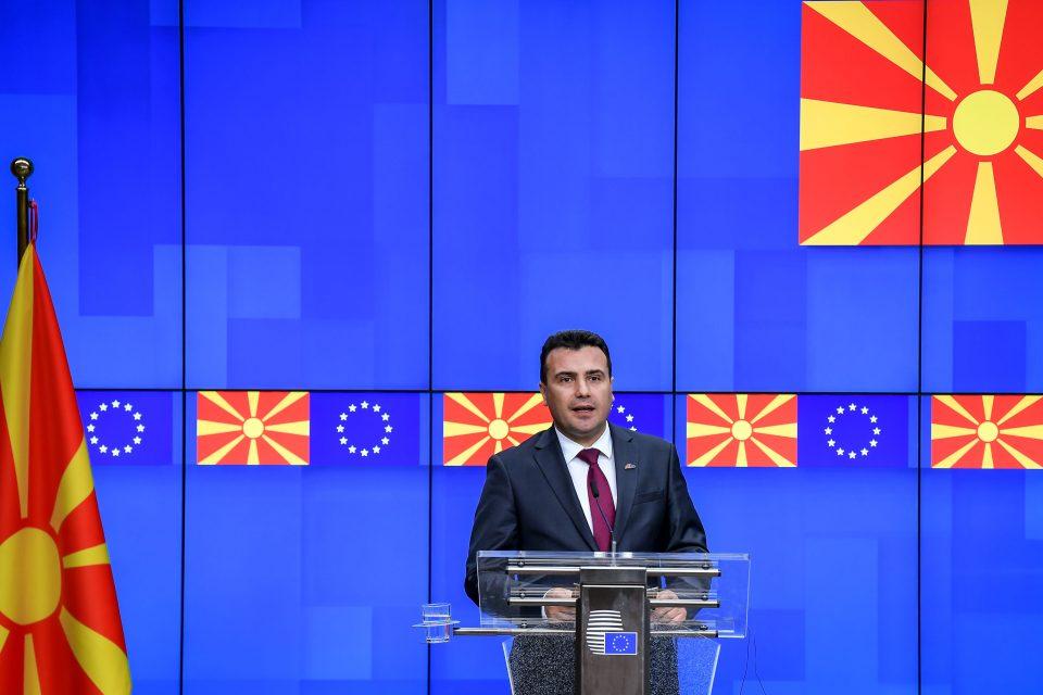 Заев: ЕУ го поздравува напредокот на Северна Македонија