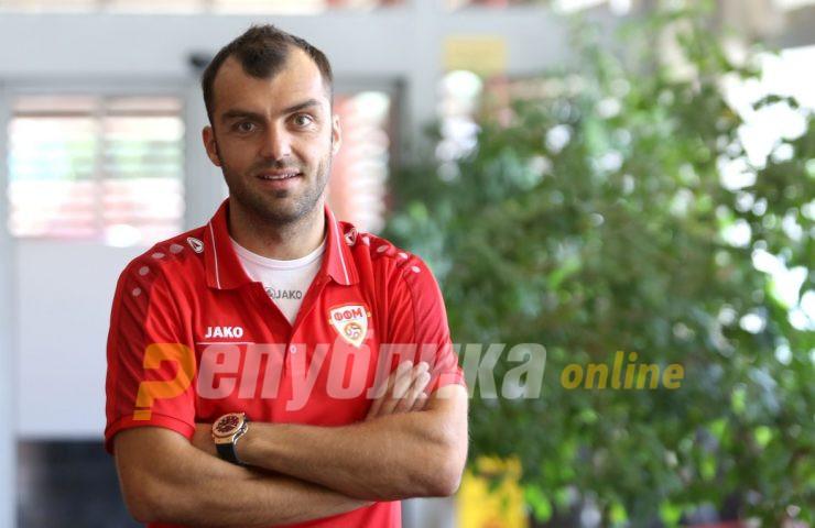 Македонија против Летонија во јубилејниот натпревар за Пандев