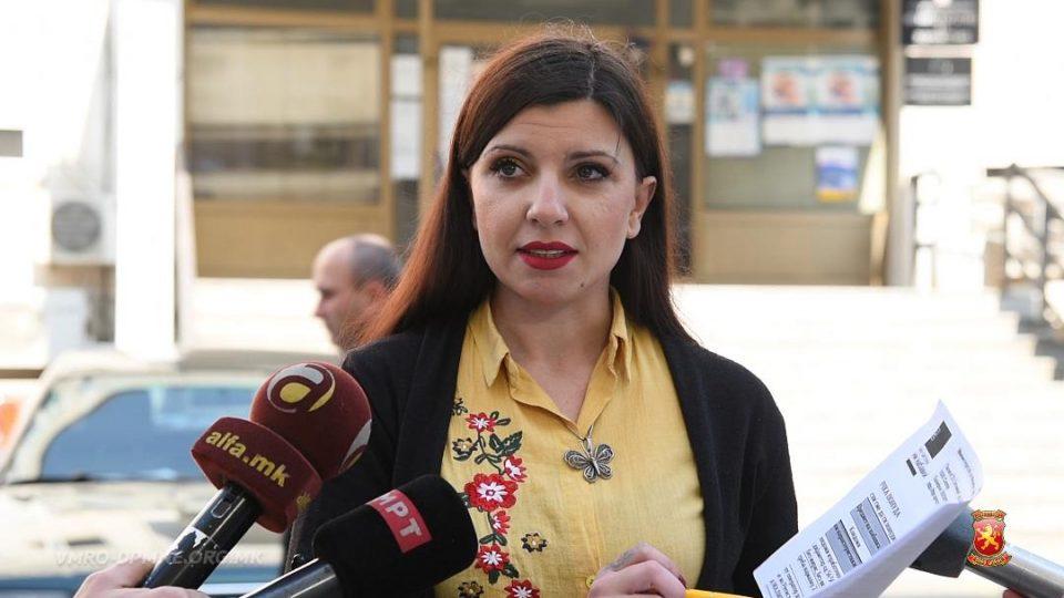 Маја Славева од ВМРО ДПМНЕ:  Филипче наместо терапија за ретките болести набавува 150.000 кондоми и 80.000 лубриканти!