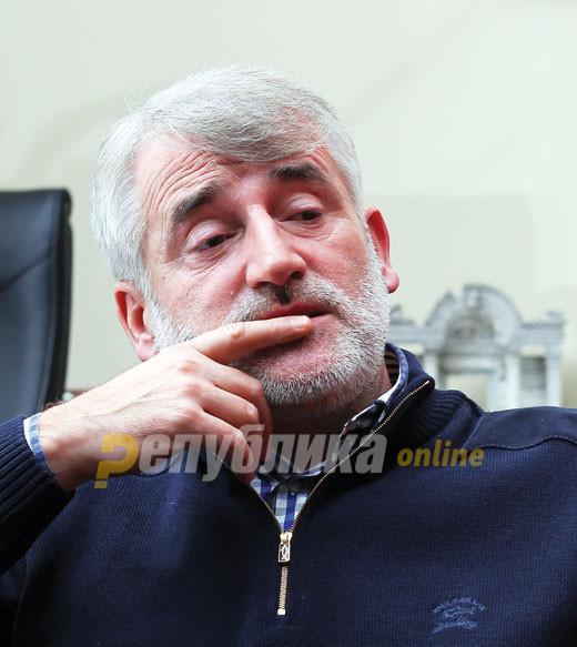 Тачи: Анкетите покажуваат дека ВМРО ДПМНЕ стои пред СДСМ