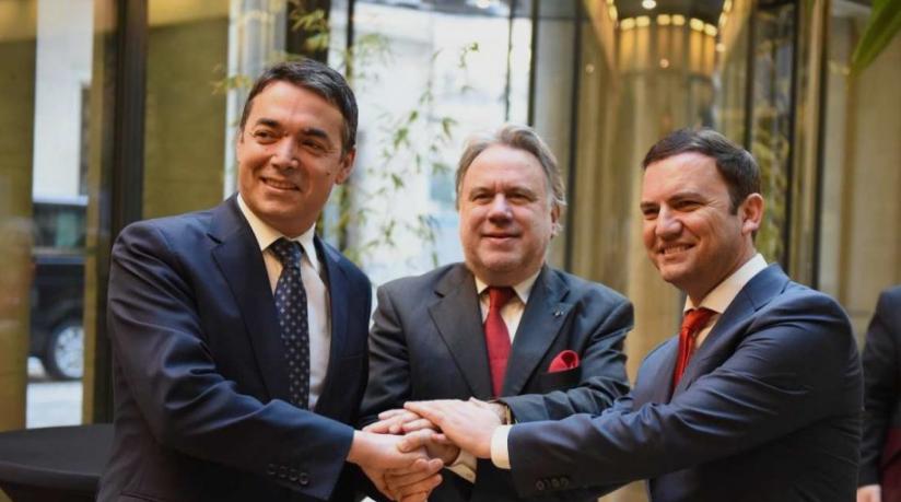 Димитров и Османи: Очекуваме во јуни одлука за преговори со ЕУ