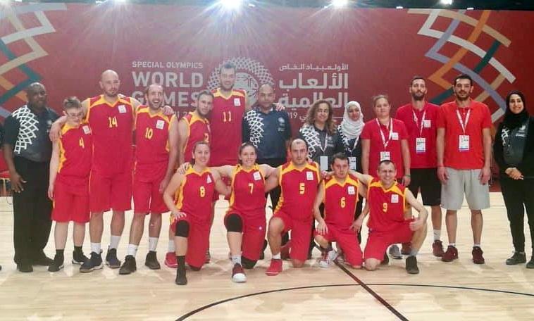 Кошаркарите на Специјална олимпијада освоија бронзен медал Абу Даби