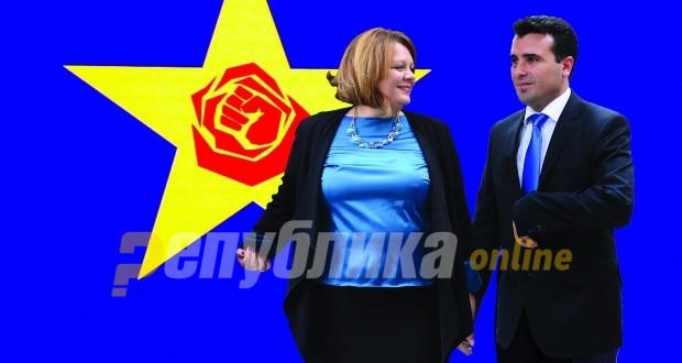 Катица Јанева е бела мечка за Зоран Заев