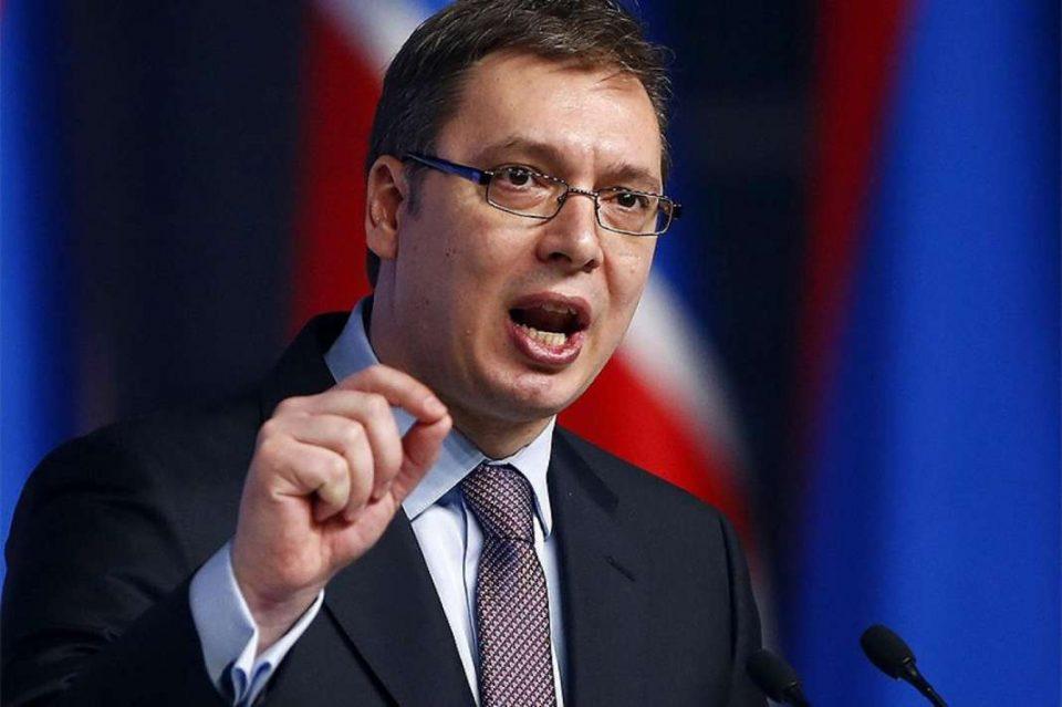 Вучиќ: Не постои амбасадор или политичар кој може да ми лупне на врата или да ја отвора со нога
