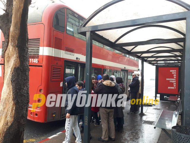 Четири момчиња вчера завршиле во станица, нападнале двајца тинејџери во автобус