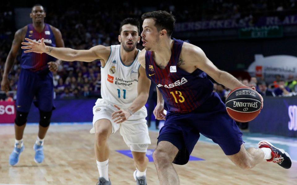 """Евролига: Барселона го порази шампионот Реал во """"Ел Класико"""""""