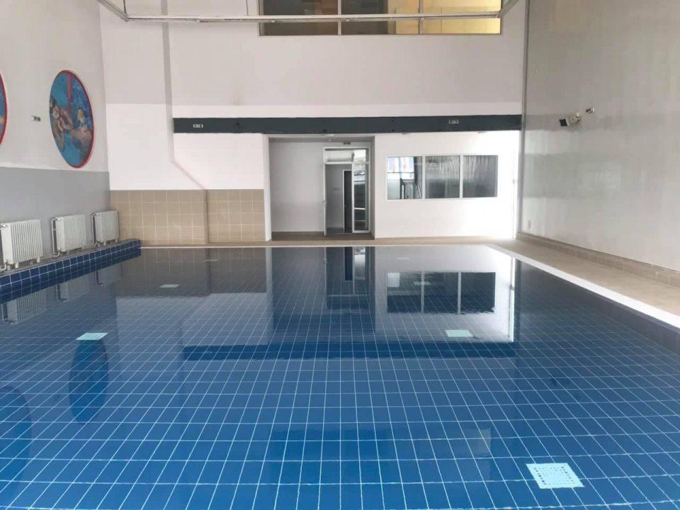 """Базенот што стана сала за бокс, по девет години повторно е базен во СЦ """"Борис Трајковски"""""""