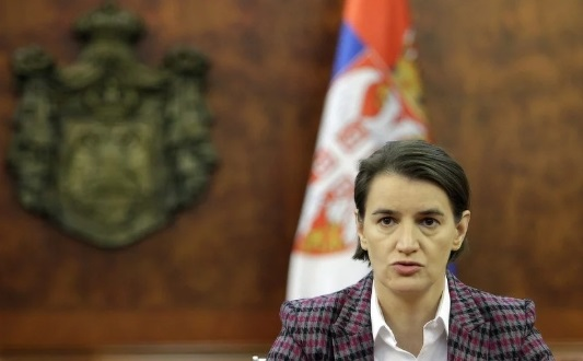 Брнабиќ: Косово во сегашните граници е црвена линија преку која Србија нема да помине