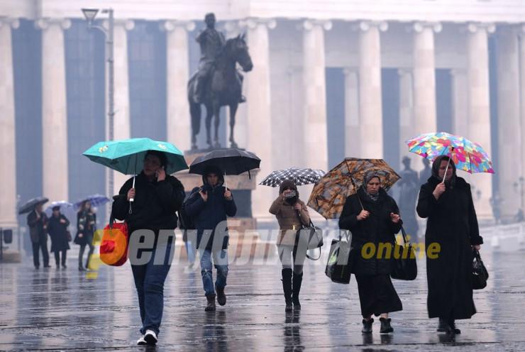 Дождлив јануарски ден