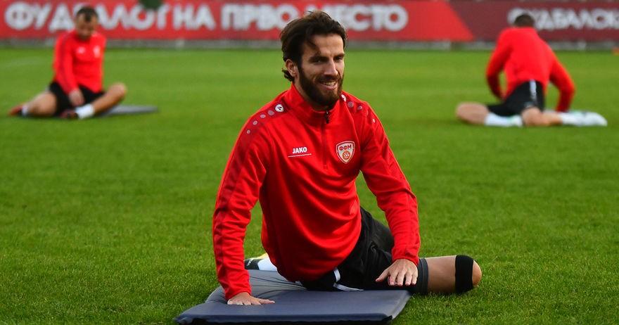 Хасани се повреди, нема да патува во Словенија