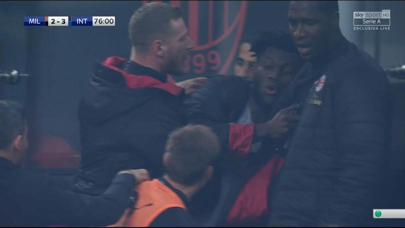 Милан го казни Кеси со 40.000 евра поради инцидентот со Биља