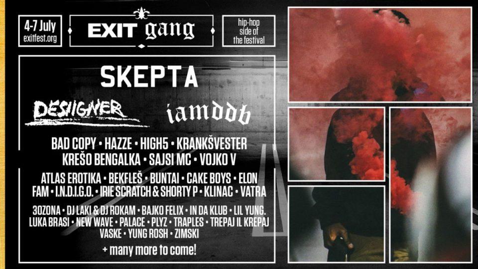 Хип-хоп фестивал на EXIT со Skepta, IAMDDB, Desiigner и повеќе од 70 изведувачи!